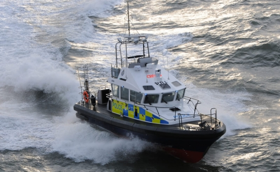 15m Police Patrol Boat