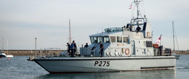 HMS Raider Patrol Boat re-power