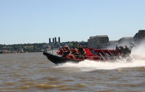 Fast tourist boat