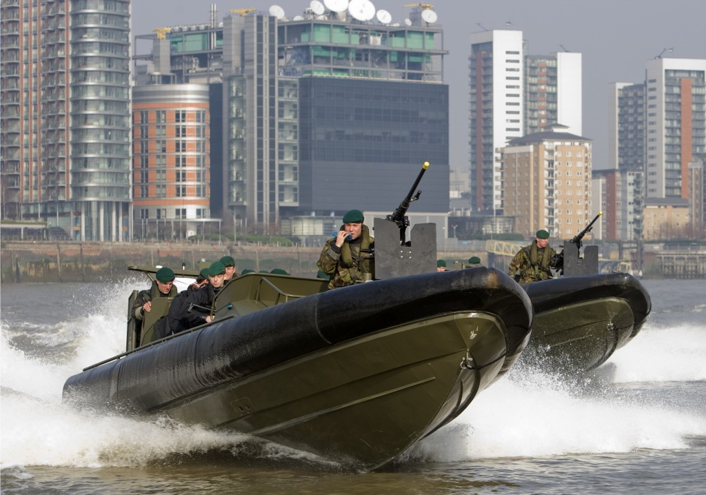 Offshore Raiding Craft in London