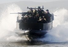 Royal Marines at DSEI 2015