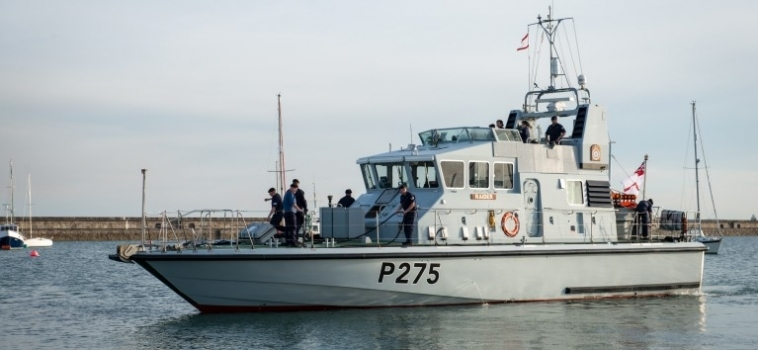 HMS Raider Patrol Boat re-power