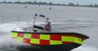6.4m Fire Boat – Fire Alpha II