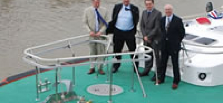 Naming ceremony for Harwich Pilot Boat