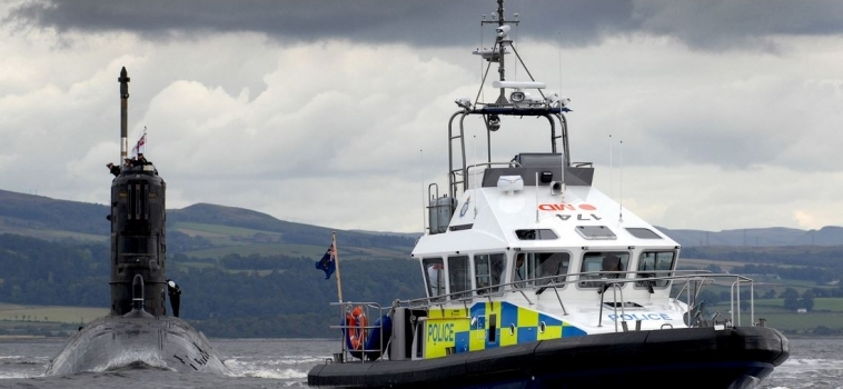 15m Police Launch – Gigha