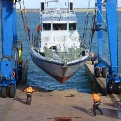 HMS Charger completes major refit