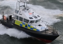 Police Patrol Boat in Clyde Rescue
