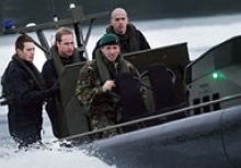 Prince William at Faslane