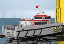 Holyhead To Build Wind Farm Service Vessel