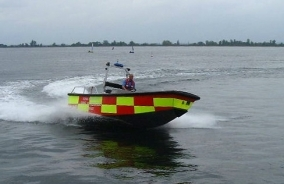 6.4m Fire & Rescue Boat